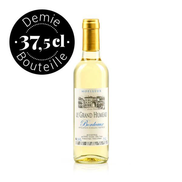 aop bordeaux vin blanc moelleux - 2017 - bouteille 37.5 cl