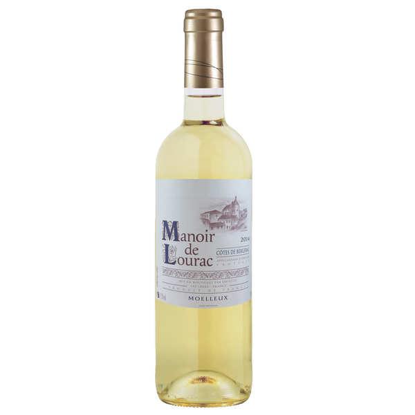 Manoir de Lourac Côtes de Bergerac vin blanc moelleux