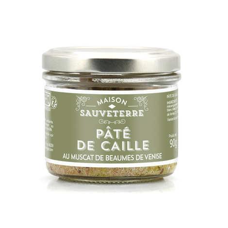Maison Sauveterre - Pâté de caille au Muscat de Beaumes de Venise