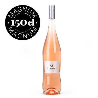 M de Minuty vin rosé Côtes de Provence - Magnum