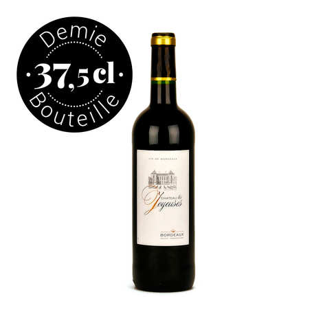 Château les Joyeuses - Château Les Joyeuses Bordeaux rouge demi-bouteille