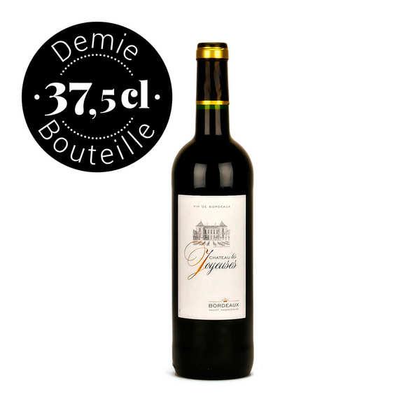 bordeaux rouge demi-bouteille - 2015 - bouteille 37.5cl