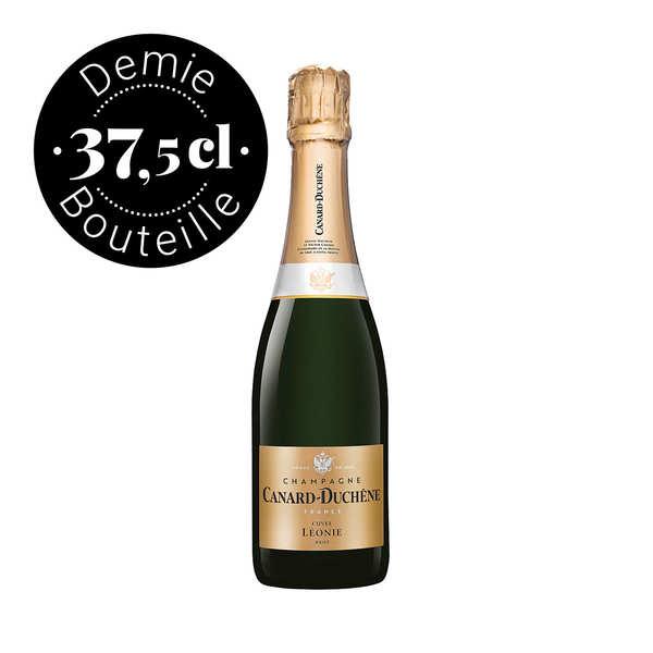 Champagne canard duchêne cuvée léonie brut - demi-bouteille - bouteille 37.5cl