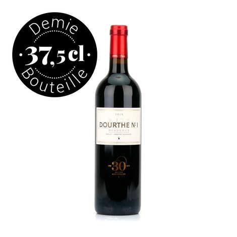 Vignobles Dourthe - Dourthe n°1 Bordeaux vin rouge AOC - Demi-bouteille