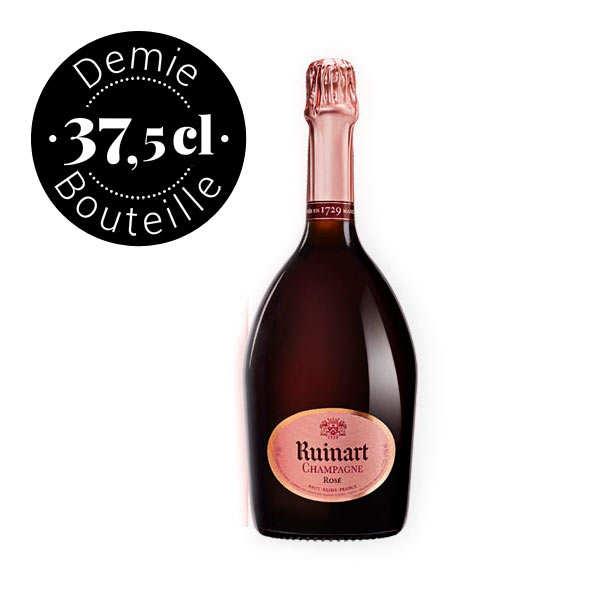 Champagne Ruinart Rosé Brut en demi bouteille