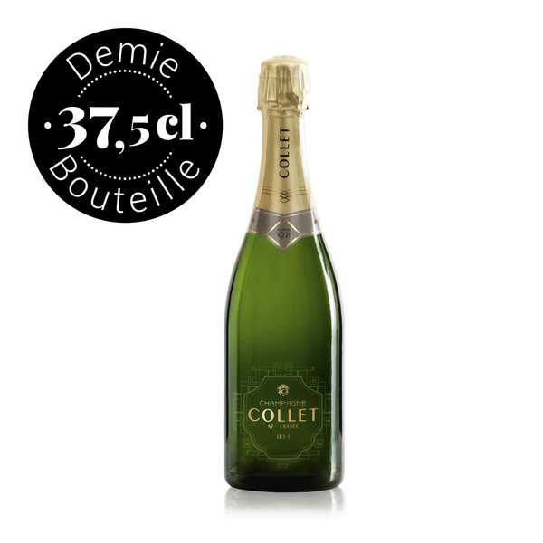 Champagne Collet Brut en demi-bouteille
