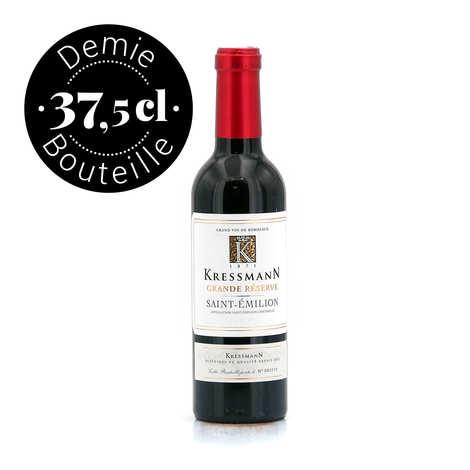 Kressmann - Wine from Bordeaux - Saint-Emilion Grande Réserve - Half Bottle