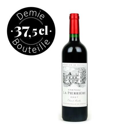 Château La Pierriere - Château La Pierrière - Côtes de Castillon vin rouge Demi-Bouteille