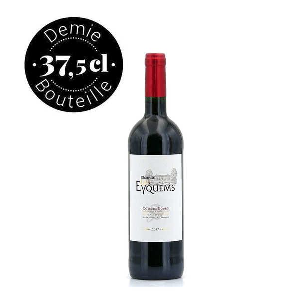 - bordeaux rouge côtes de bourg en demi-bouteille - 2016 - bouteille 37.5cl