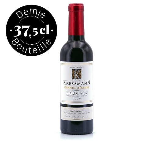 Kressmann - Bordeaux vin rouge AOC Grande Réserve - Demi-Bouteille