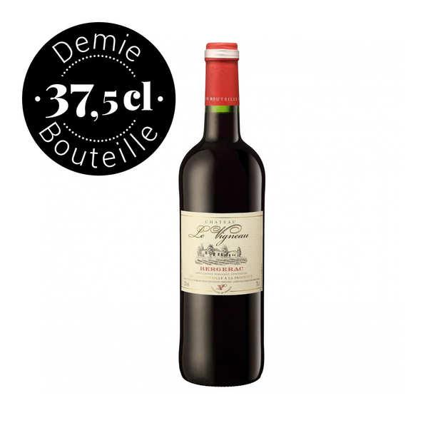 Le Vigneau Bergerac rouge AOC - Demi-bouteille