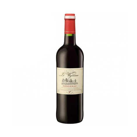 Couleurs d'Aquitaine - Le Vigneau Bergerac vin rouge AOC - Demi-bouteille