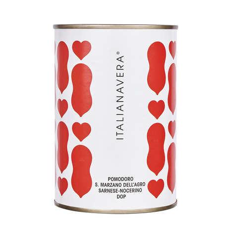 ItalianaVera - Tomates San Marzano entières pêlées au jus