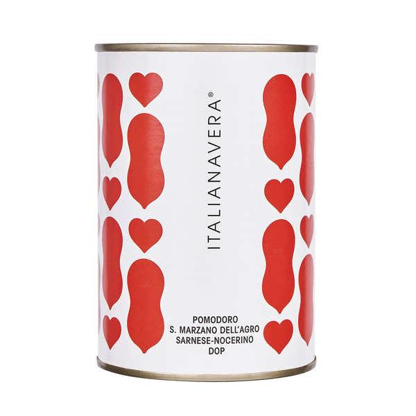 Tomates San Marzano entières pêlées au jus