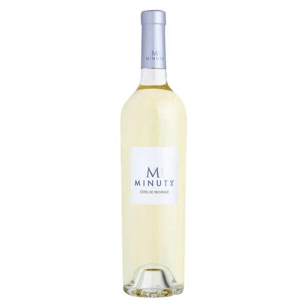 M de Minuty vin blanc Côtes de Provence AOP