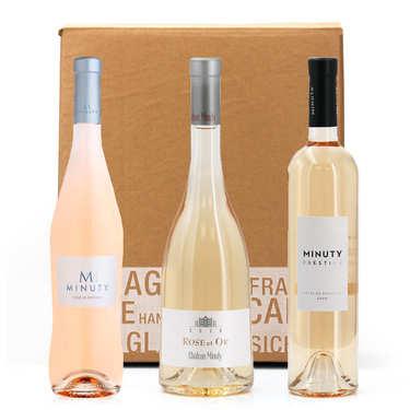 Box 3 vins rosés Château Minuty