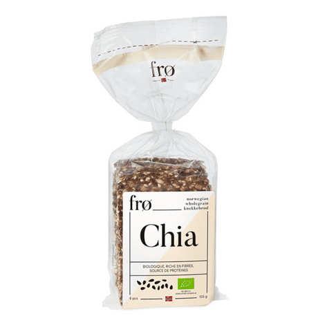 FRØ - Organic Crispy Norvegian Bread - Chia