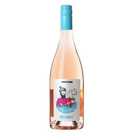 Paul & Sarah - Paul & Sarah - Tutti Frutti vin rosé AOP Bergerac