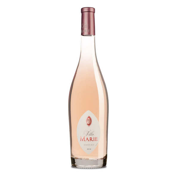 vin rosé - aop bordeaux - 2018 - bouteille 75cl