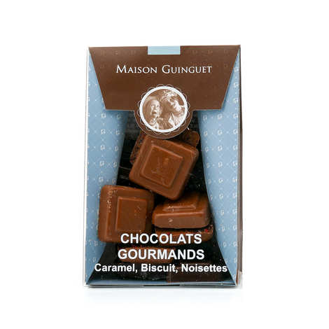 Maison Guinguet - Greedy Chocolates - Caramel, Biscuits, Nuts