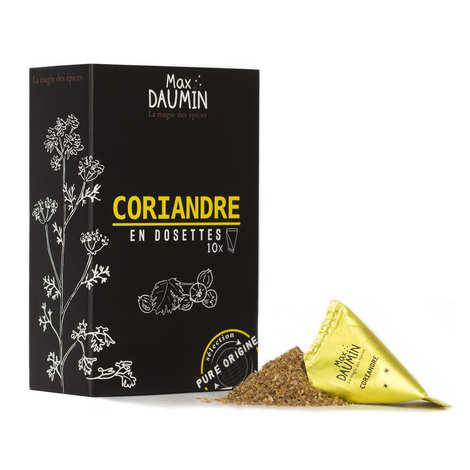 Max Daumin - Dosettes de Coriandre d'Inde