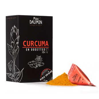 Max Daumin - Dosettes de Curcuma de Madagascar