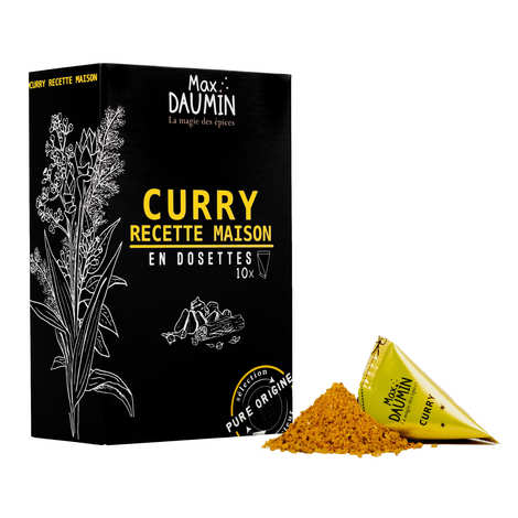 Max Daumin - Curry Pods - Assembly of 12 spices