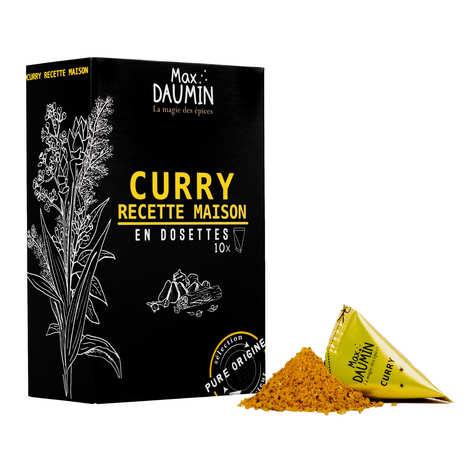 """Max Daumin - Dosettes de Curry """"recette maison"""" - Assemblage de 12 épices"""