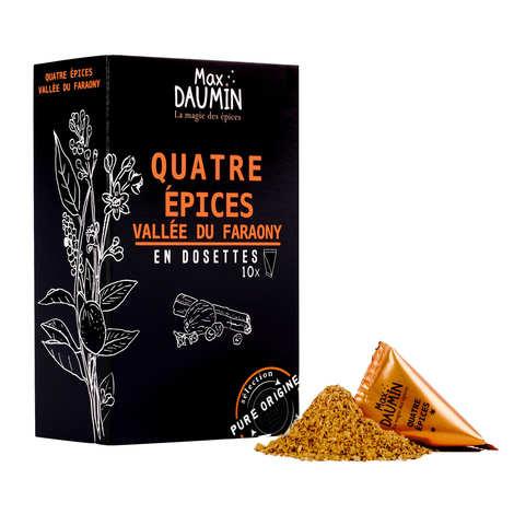 Max Daumin - Dosettes de 4 épices de la Vallée du Faraony