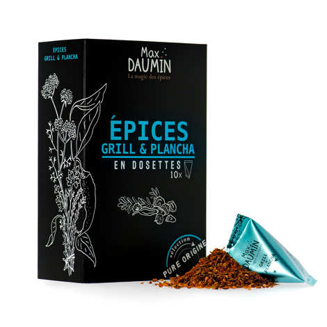 Max Daumin - Grill & Plancha spices Pods