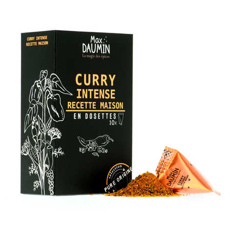 Max Daumin - Intense Curry Pods - Assembly of 9 spices