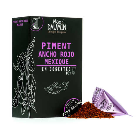 Max Daumin - Ancho Chilli Pepper Pods From Mexicp