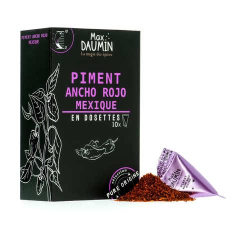 Max Daumin - Dosettes de Piment Ancho du Mexique