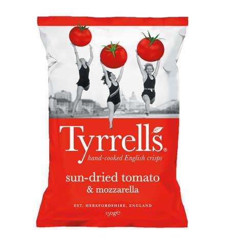 Tyrrells - Sun-Dried Tomato and Mozzarella Potatoe Crisps