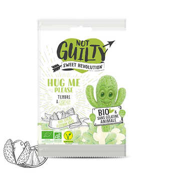 Not Guilty - Organic & vegan Lychee and lime Candies