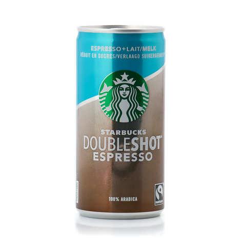 Starbucks - Doubleshot Espresso and Cream cold coffee lower sugar content