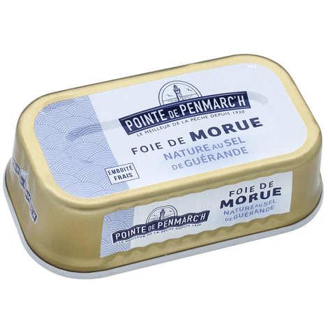 La pointe de Penmarc'h - Foie de morue nature au sel de Guérande