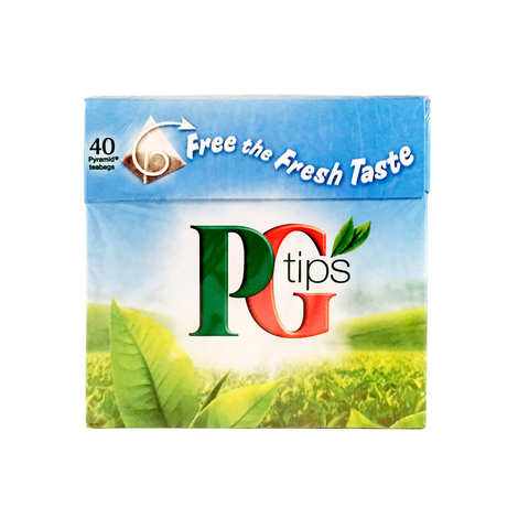 PG tips - Thé noir anglais PG en sachets