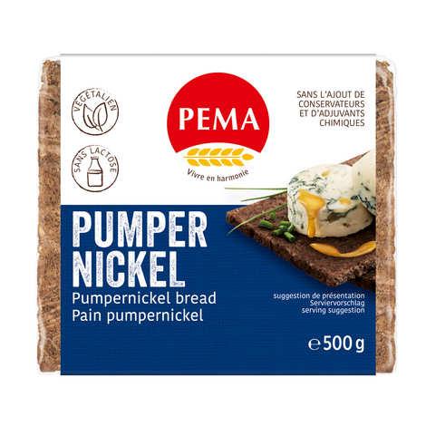 Pema - Pain Pumpernickel au seigle - Végétalien, sans lactose