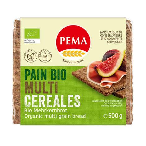 Pema - Pain bio multi-céréales - Végétalien, sans lactose