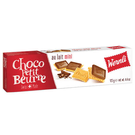 Wernli - Mini Petit Beurre Biscuit with Chocolate