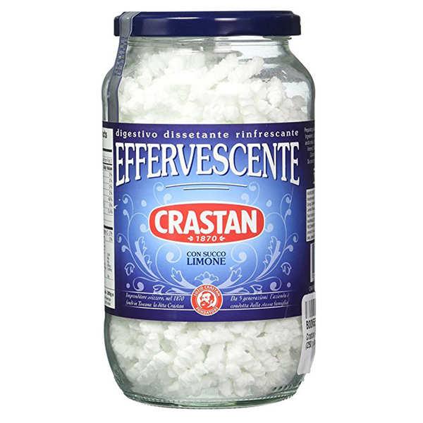 Préparation pour boisson effervescente en granulés Crastan
