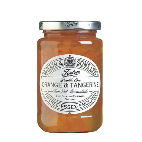 Tiptree - Marmelade double one orange et mandarine
