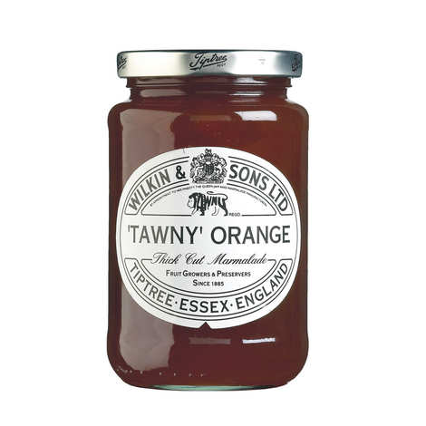 Tiptree - Marmelade orange Tawny - écorce épaisse