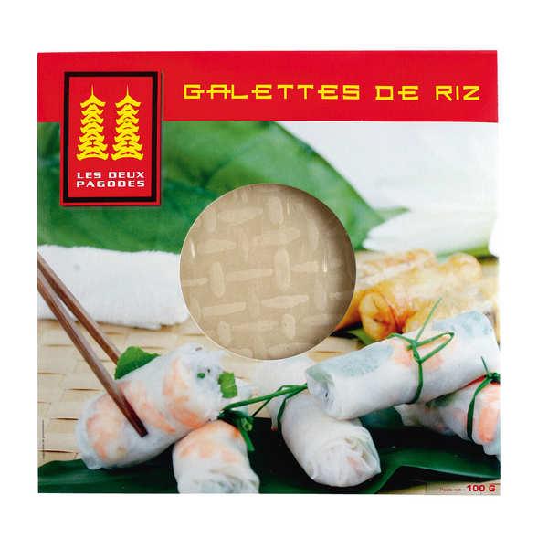 Galettes de riz chinoises déshydratées