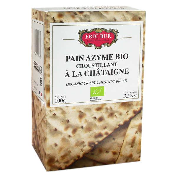 Pain Azyme bio à la farine de Châtaigne