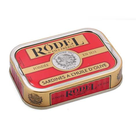 Rödel - Sardines à l'huile d'olive millésimée