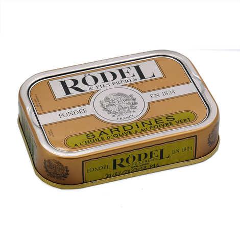 Rödel - Sardines à l'huile d'olive et au poivre vert