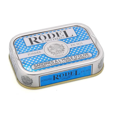 Rödel - Sardines with olive oil, truffles and achards