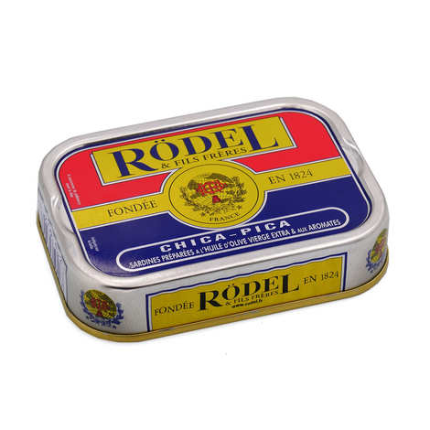 Rödel - Sardines préparées aux Aromates Chica Pica